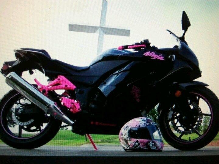 Image Result For Kawasaki Ninja Pink