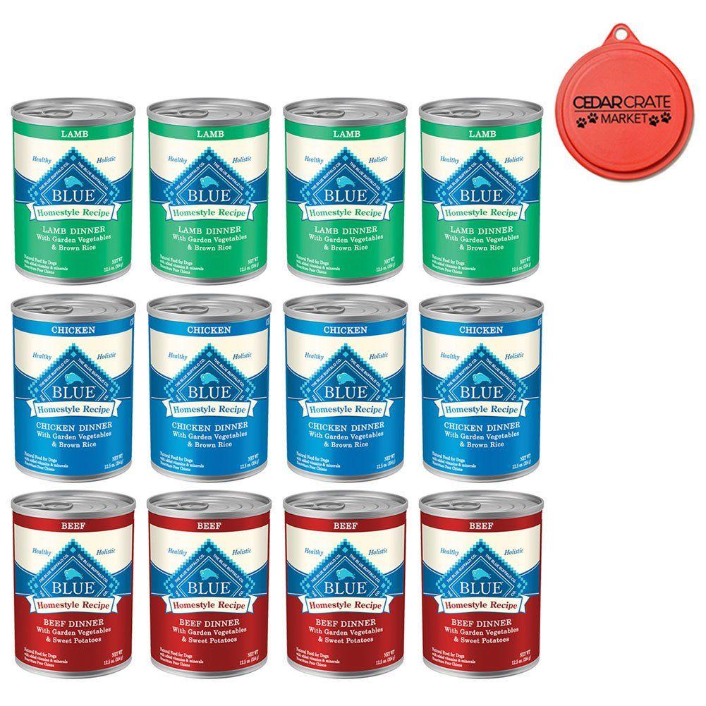 Blue buffalo bundle homestyle recipe canned dog food pack