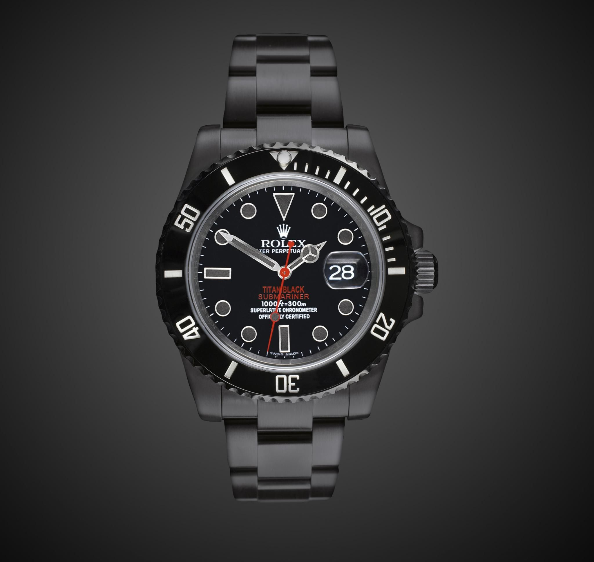 Titan black rolex submariner stealth dlc black rolex pvd fashion pinterest rolex for Submarine watches