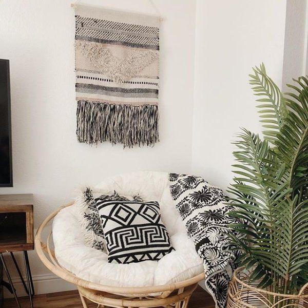Fuzzy Sand Papasan Cushion