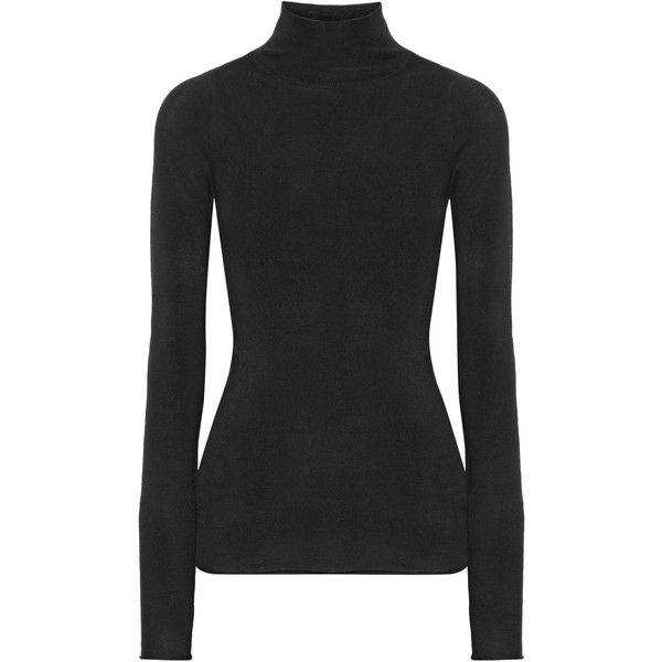 Joseph Merino wool turtleneck sweater ($245) ❤ liked on Polyvore ...