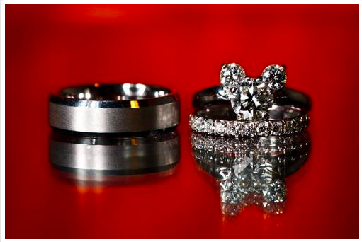 Disney Engageent Rings Mickey Mouse Wedding