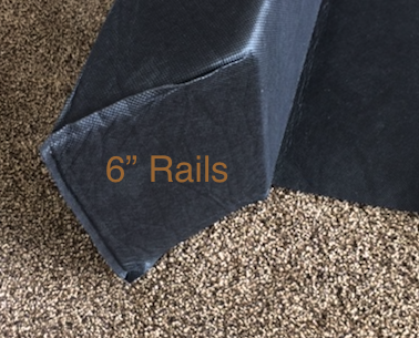 "6"" Support Foam Rails for Sleep Number® Beds Sleep"