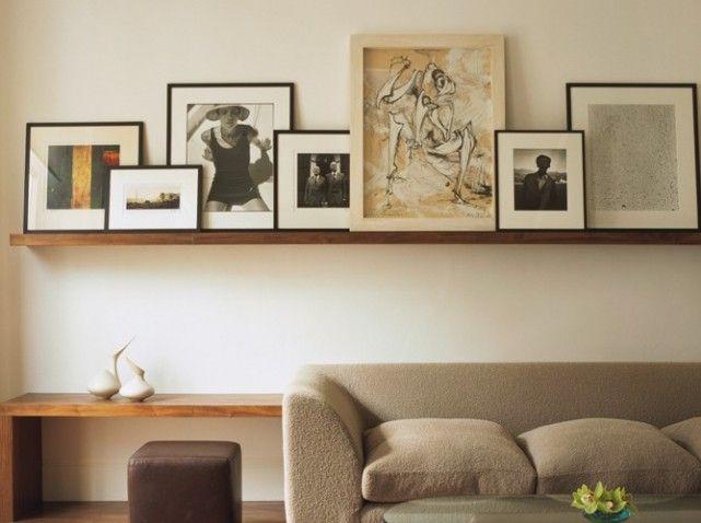 salon elle d coration deco living etagere cadre. Black Bedroom Furniture Sets. Home Design Ideas