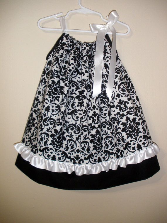 Sale - Damask Boutique Pillowcase Dress size 3T - Ready to ship