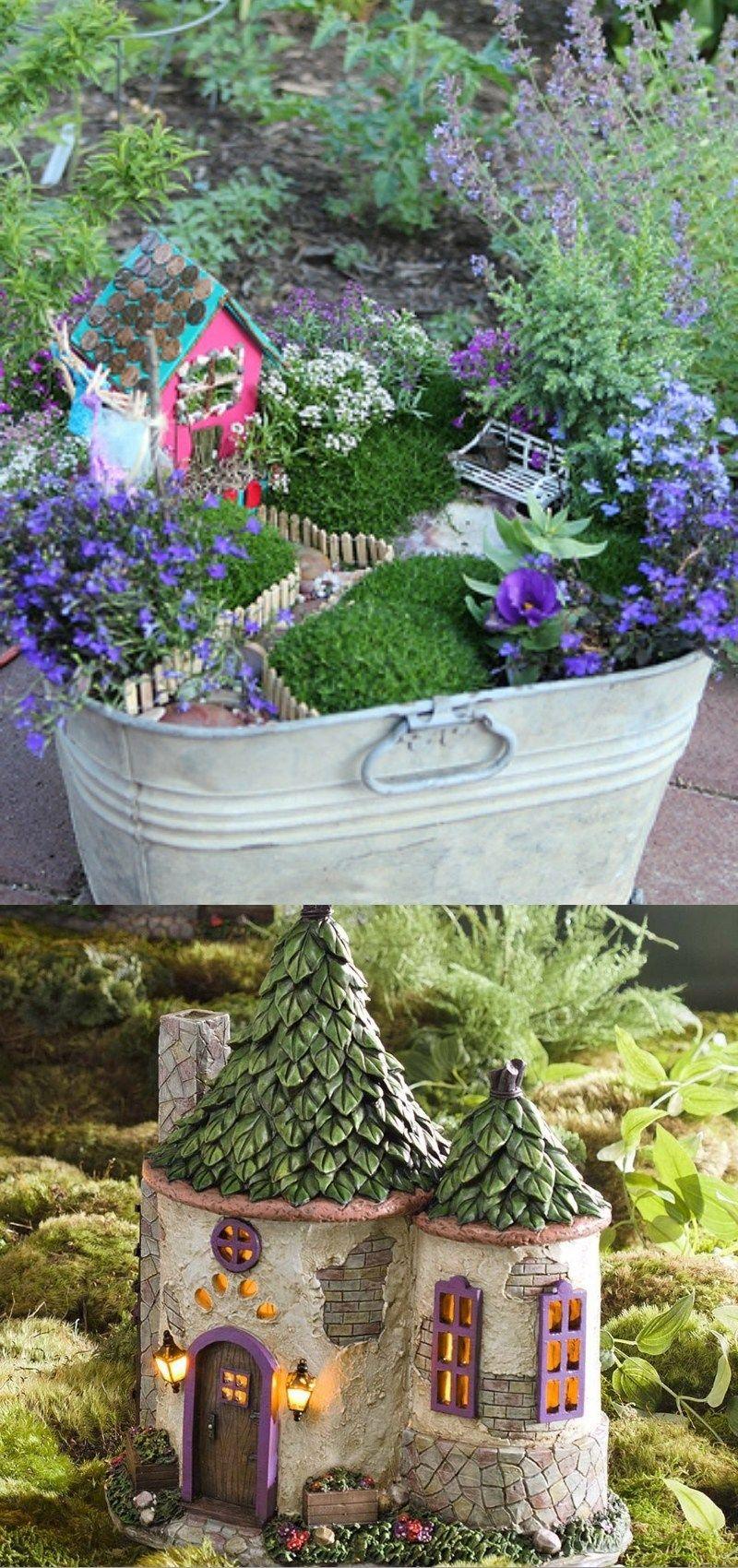Diy Fairy Garden Ideas Fairy Garden Containers Fairy Garden Diy