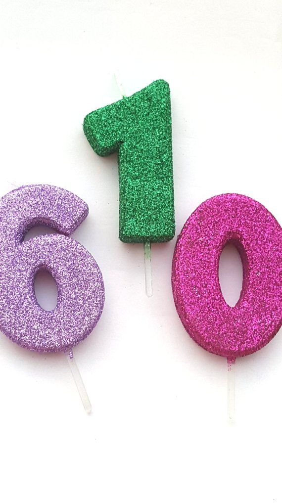 GLITTER GREEN CANDLE Number Wild One Birthday Cake Candles Photo Prop Smash 1 1st 2nd 3rd Jungl