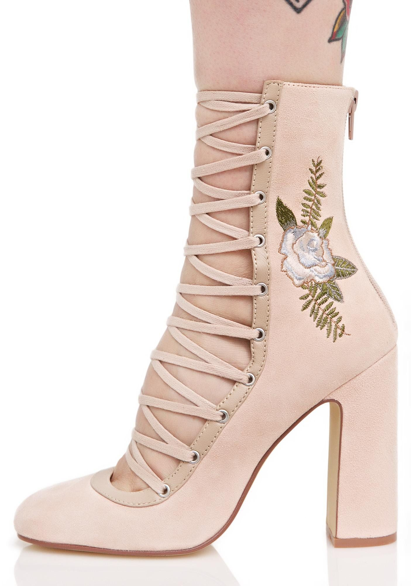 b3cf54d17c38 Chinese Laundry Sylvia Lace-Up Heels cuz you re the leader in this tango