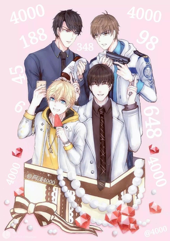 Cre. On Pic in 2020 Anime boy, Cute anime guys, Anime guys
