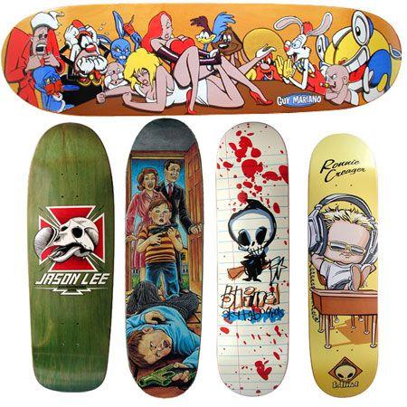 Los Mejores Disenos De Tablas De Skate Vol 1 Tablas De Skate Diseno Del Monopatin Skateboards Vintage