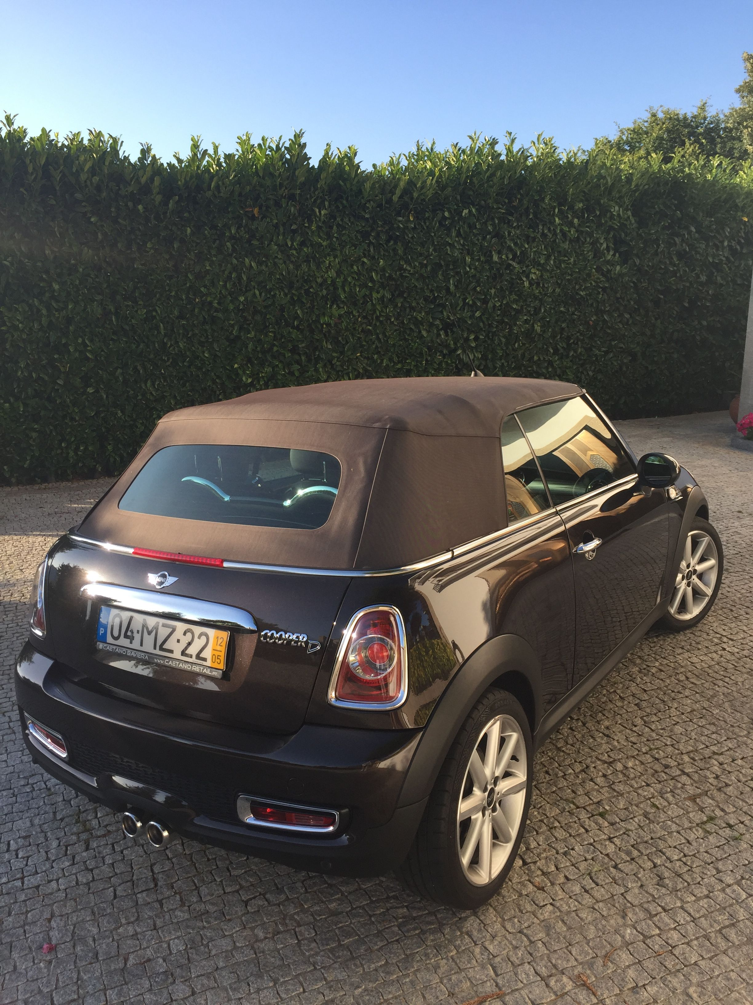 Mini Cooper Cabrio Highgate Special Edition Moris Copper