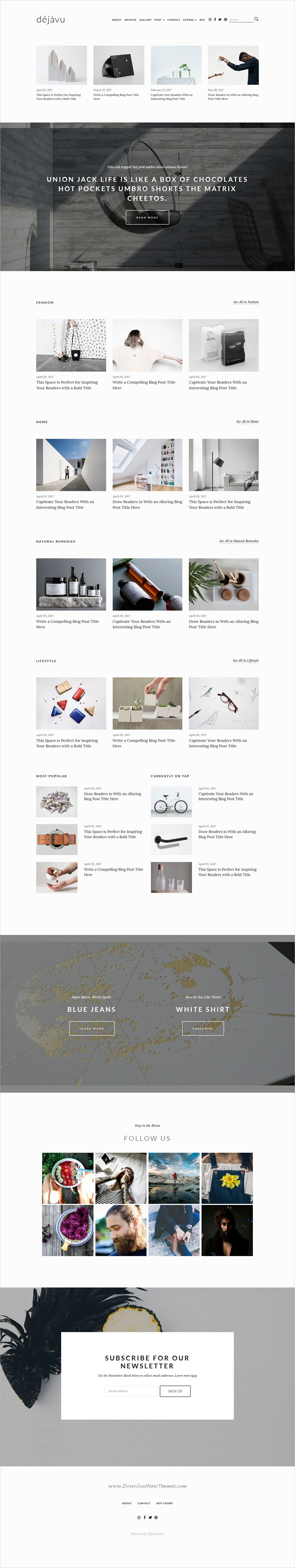 DejaVu is a creative & #minimal 3in1 design #bootstrap template for ...