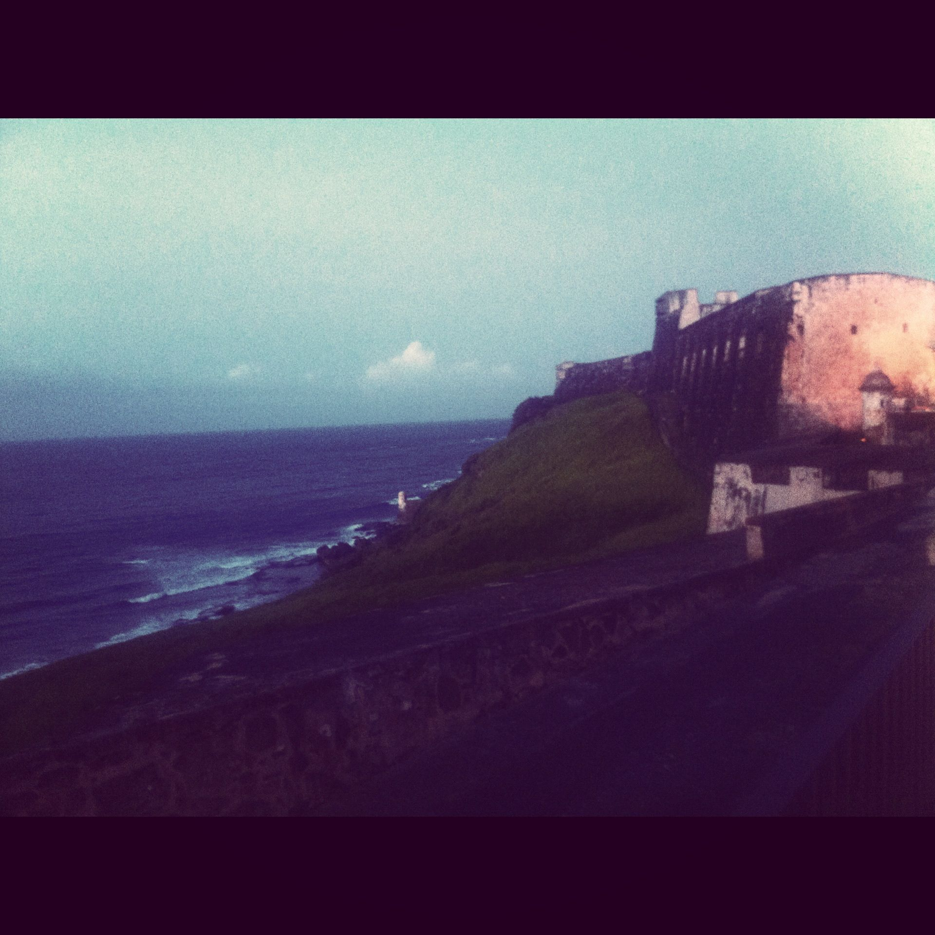 iPhone photography | Spanish fort in San Juan, PR