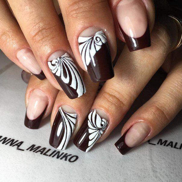 Фотографии Анны Малинко | Фиолетовый дизайн ногтей ...