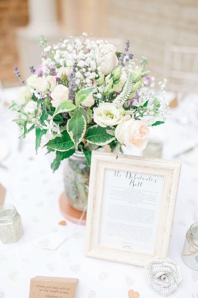 Romantic & Rustic Blush Pink Wedding | Blush pink weddings ...