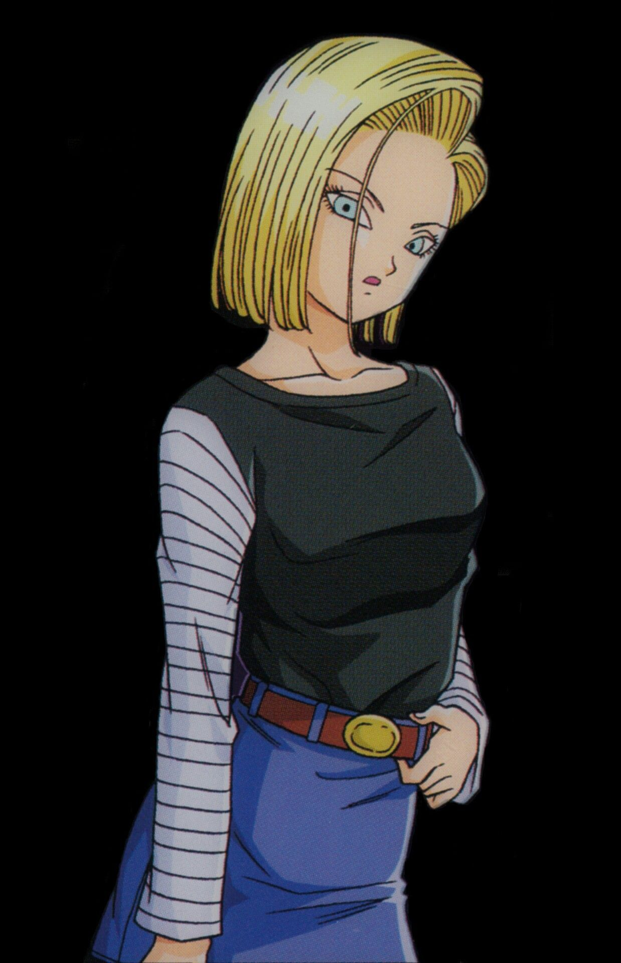 Dragon ball z majin buu saga fan art android 18 android 18 pinterest android 18 dragon - Dragon ball zc 18 ...