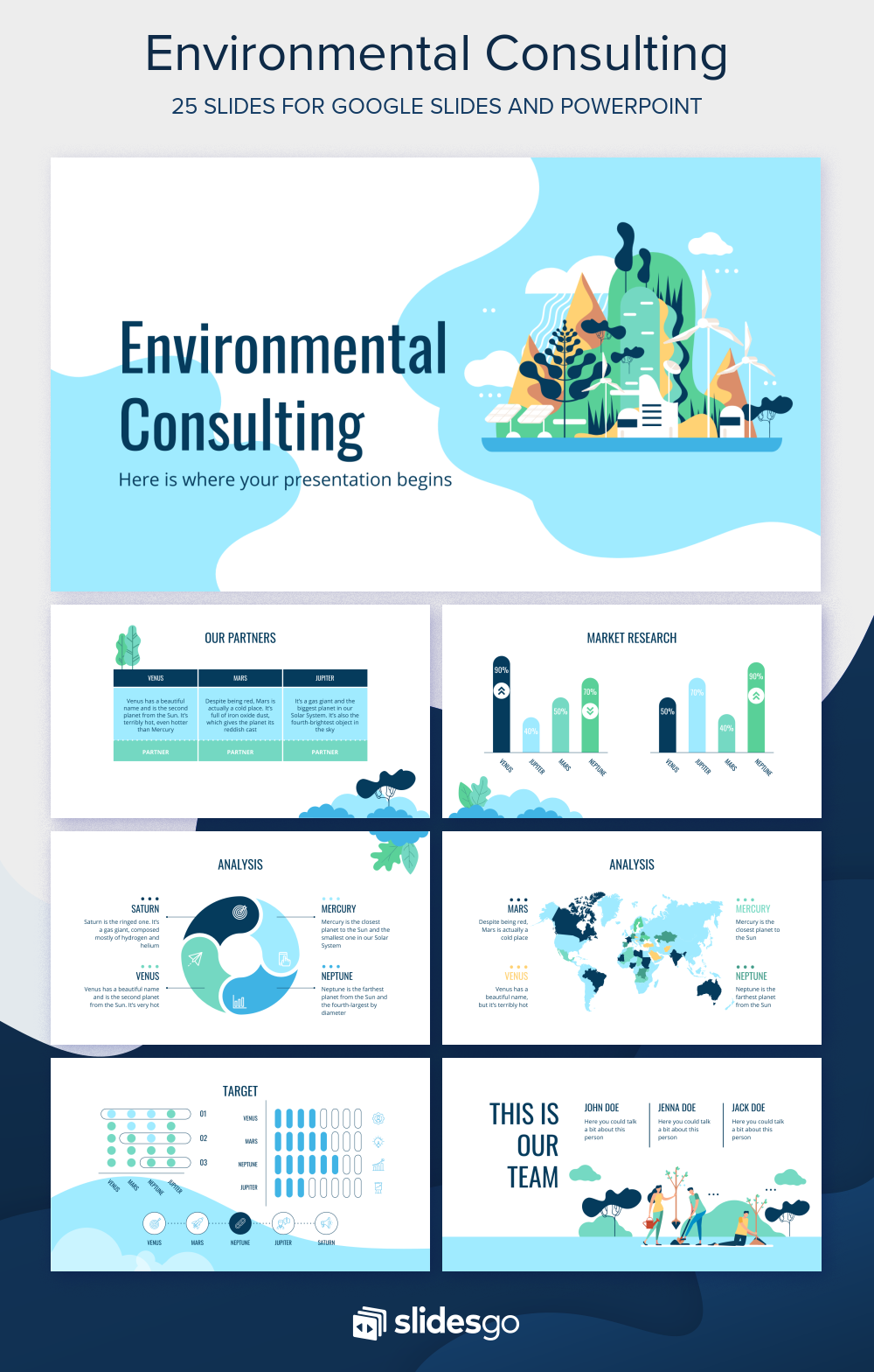Take care of the environment and offer your consulting
