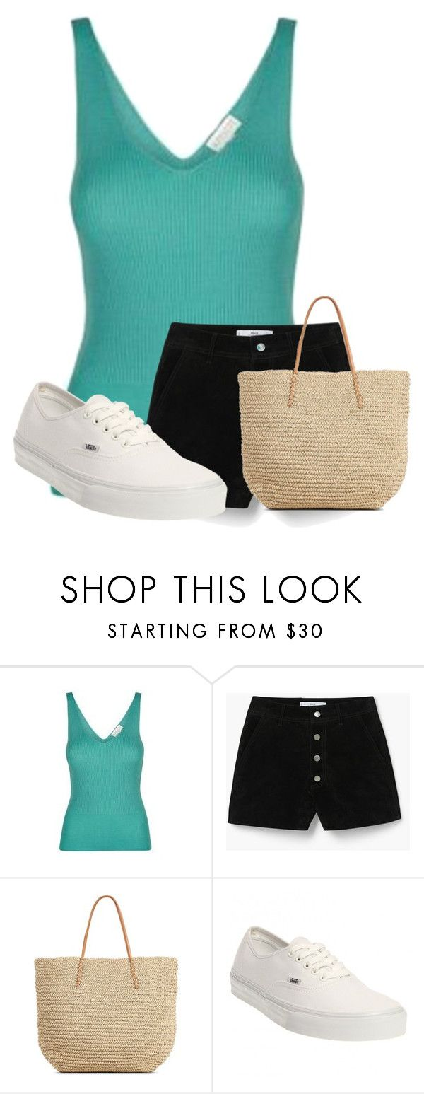 """""""Untitled #18737"""" by nanette-253 ❤ liked on Polyvore featuring MANGO, Target and Vans"""