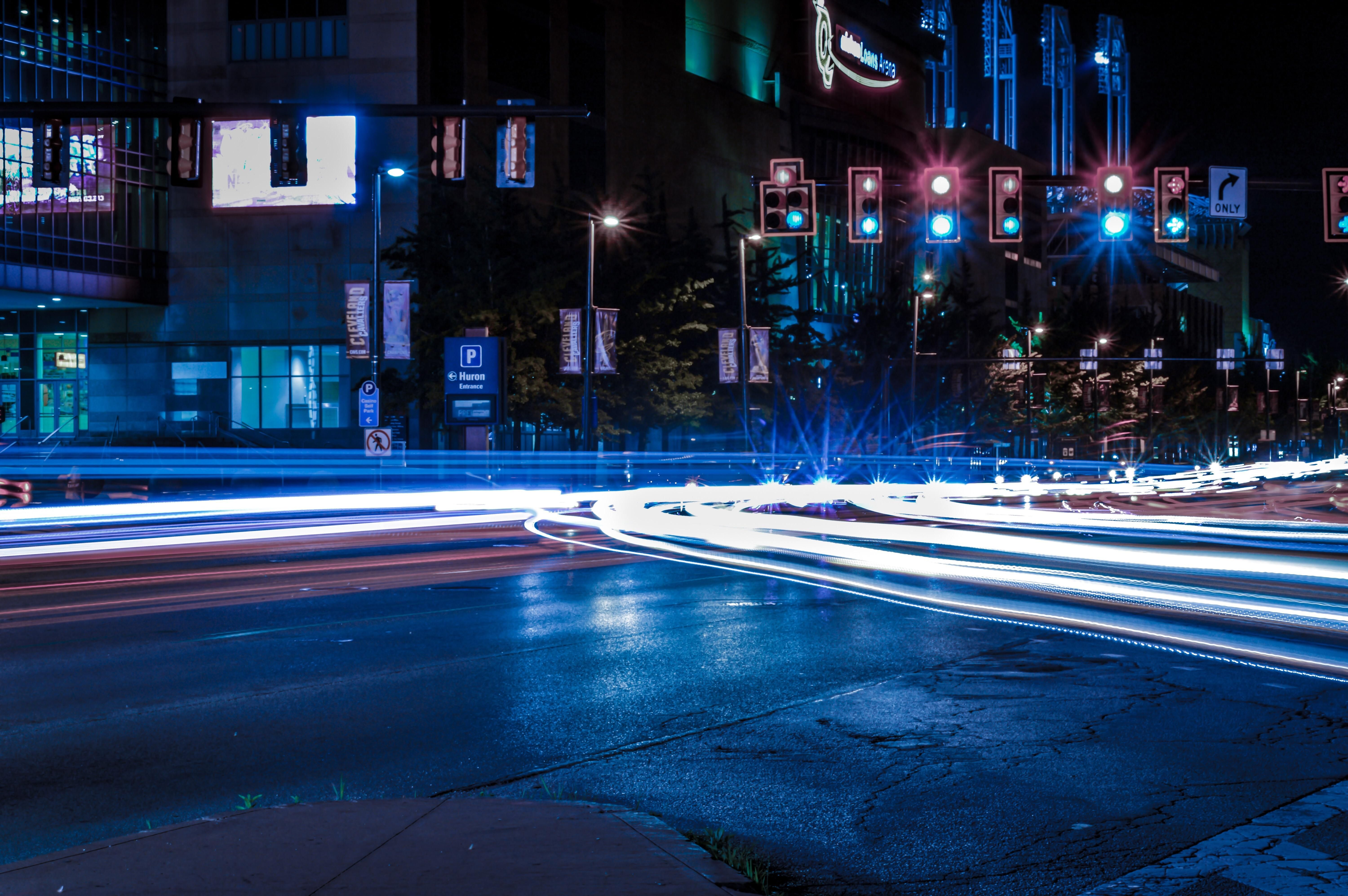 Itap of light trails in downtown cleveland oh my best photography itap of light trails in downtown cleveland oh publicscrutiny Images