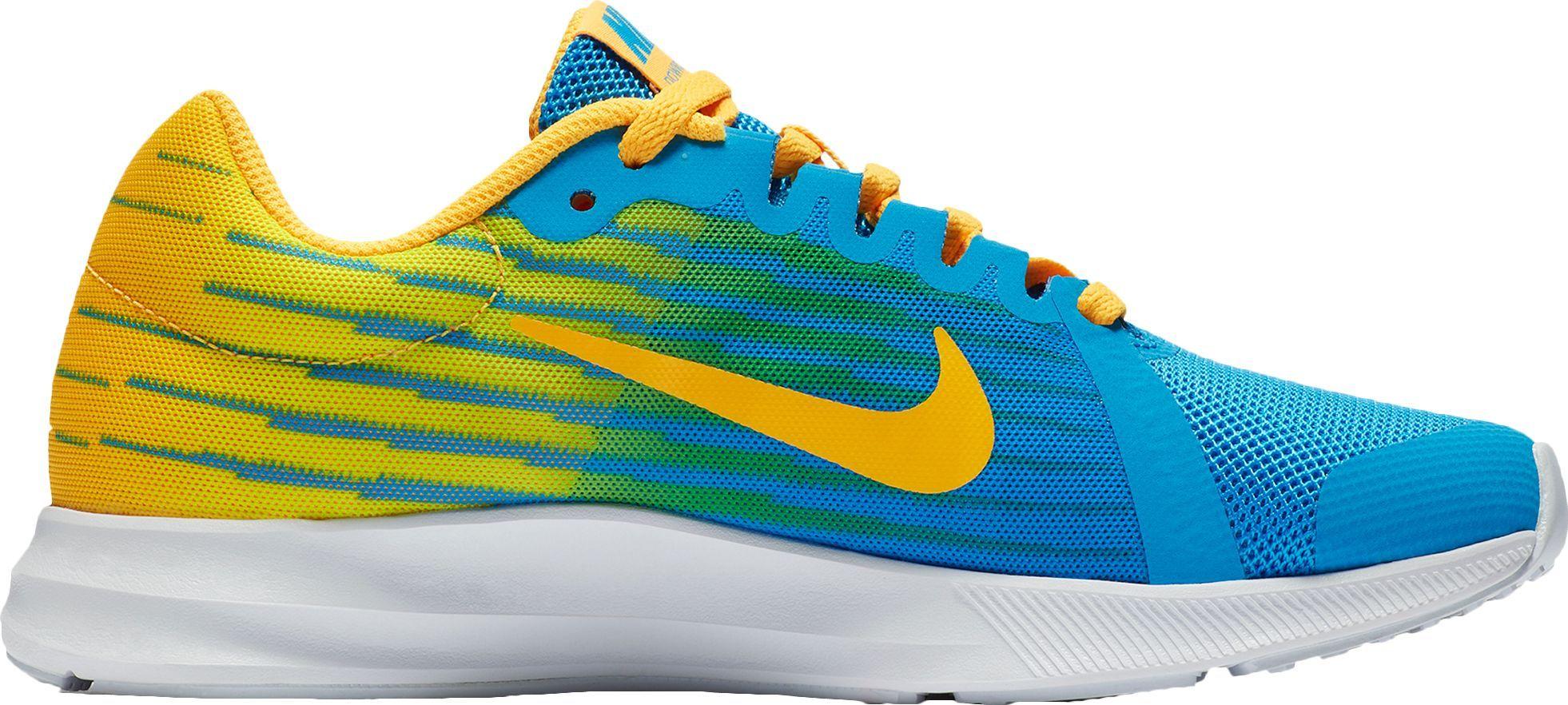 d7b9c8eca8 Nike Kids' Grade School Downshifter 8 Fade Running Shoes, Boy's, Size: 6.0,  Orange