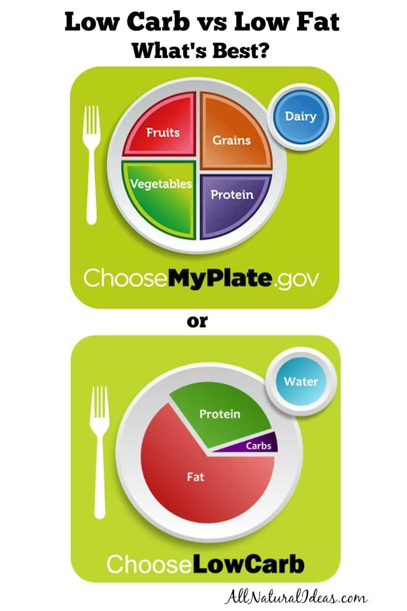 low-fat vs. low carb diet
