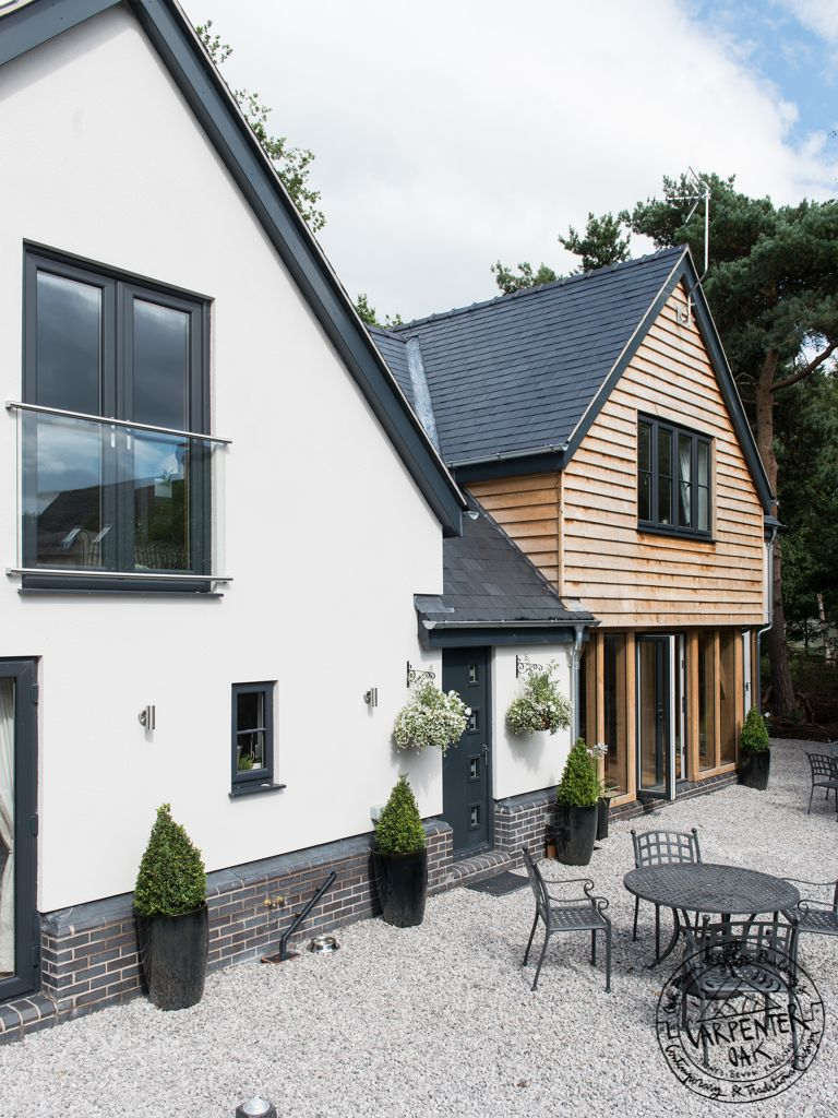 Winner of Best Oak Frame at Build It Awards 2014! | House, Cladding ...