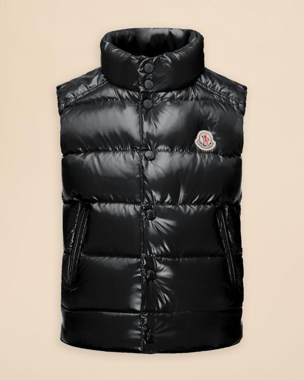 moncler tib puffer vest black