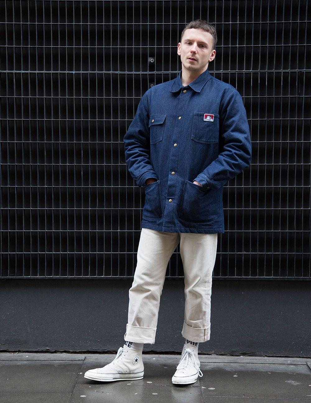 Steven Wears Jacket By Ben Davis Trousers By Stan Ray Shoes