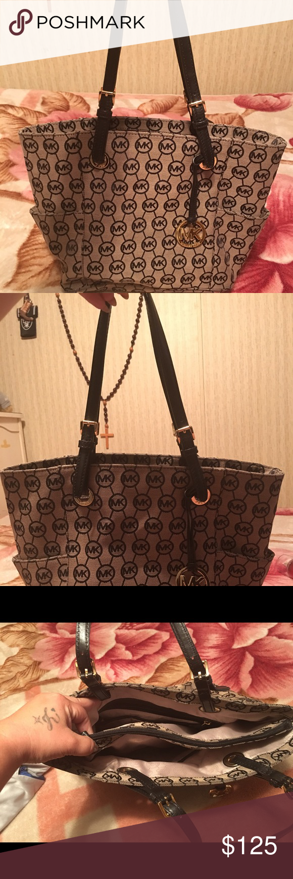 Michael Kors Handbag Practically Brand New.. Perfect Condition.. Smokefree MICHAEL Michael Kors Bags Shoulder Bags