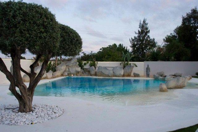Piscinas de arena compactada piscinas albercas y for Piscinas p 29 villalba