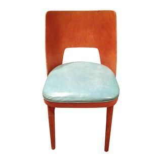 A Shelby Williams Mid Century Modern Bentwood Chair In Excellent Condition.