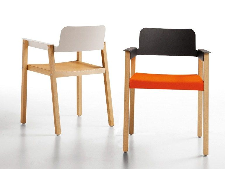 Omp Sedie ~ Chaise avec accoudoirs penelope by infiniti by omp group design