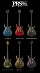 PRS Guitars 6 New Colors for 2014