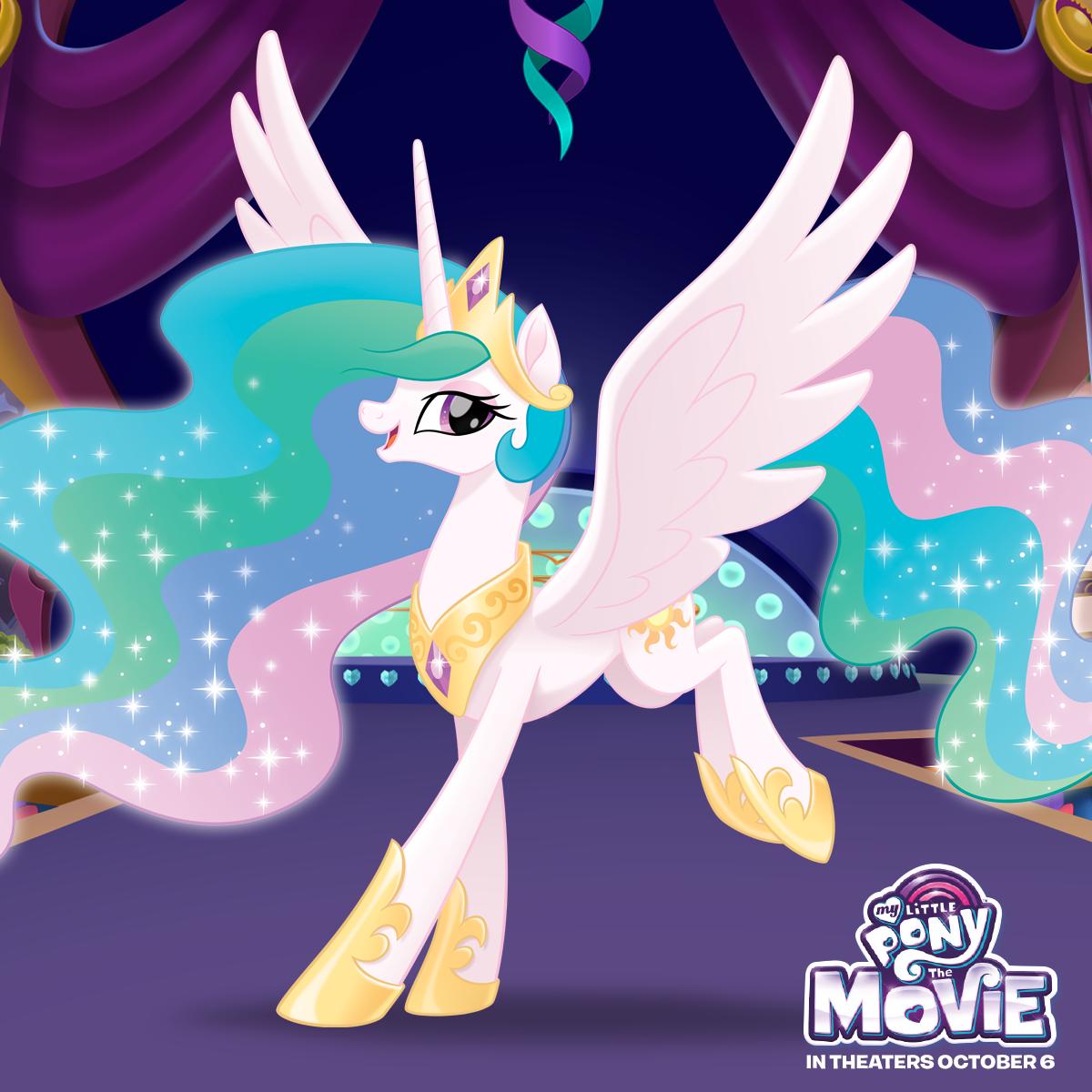 Мой маленький Пони в кино - принцесса Селестия | Принцесса ...