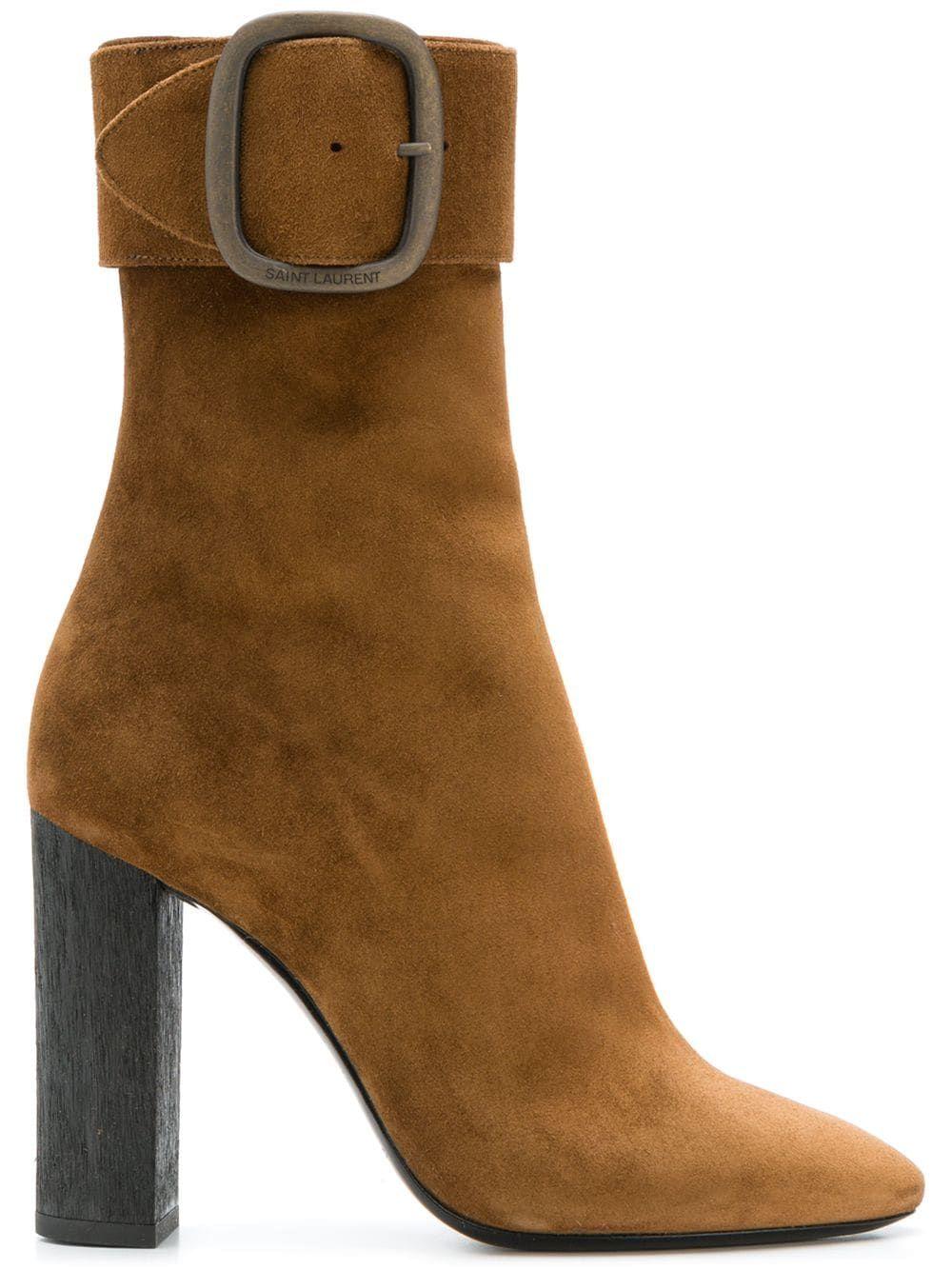 89cf9e49c1c Saint Laurent Joplin 105 ankle boots - Neutrals in 2019 | Products ...