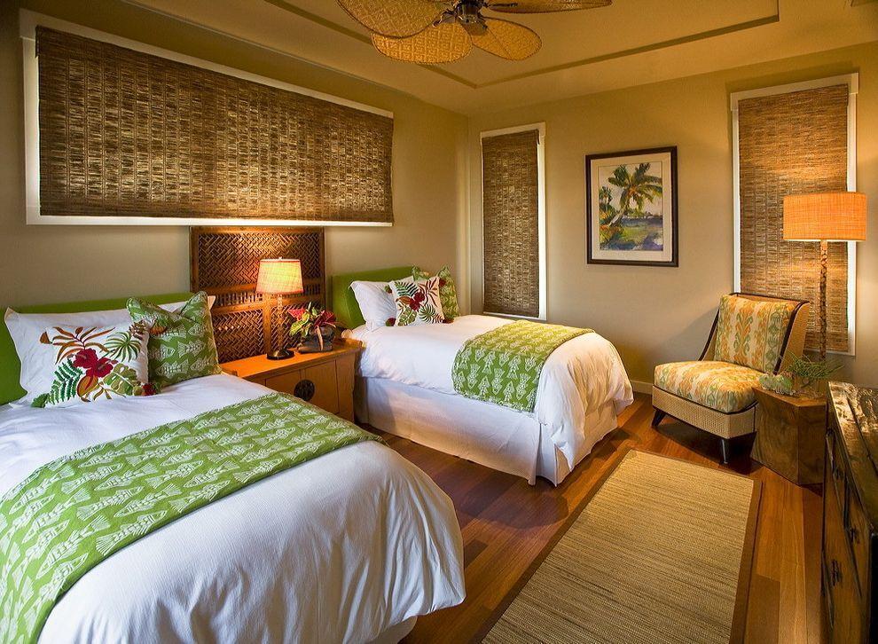 Hawaiian Themed Bedding With Tropical