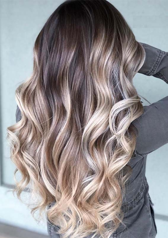 Glorious Balayage Hair Colors Contrasts To Try In 2019 Beauty