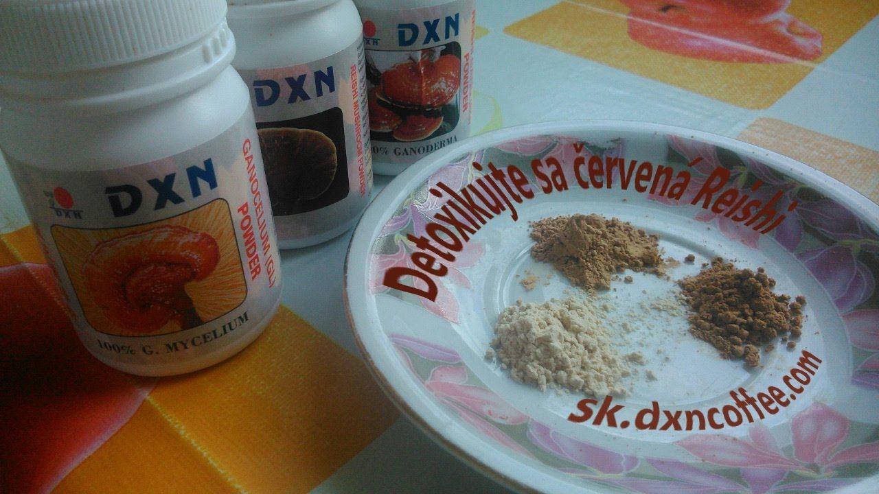 Detoxikjte sa DXN cervena Reishi