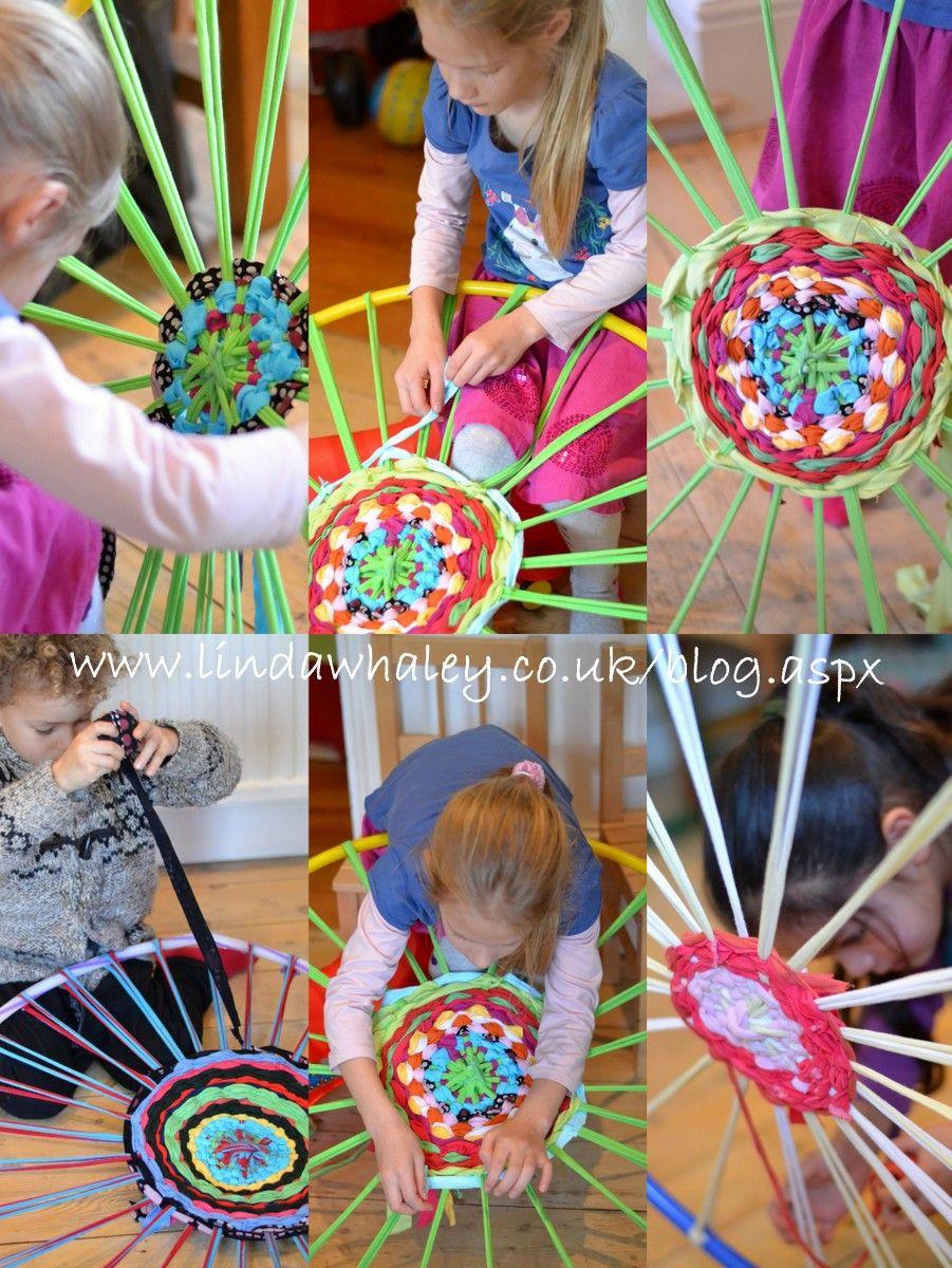Hula Hoop Weaving It Was Great To See The Kids Having So Much Fun