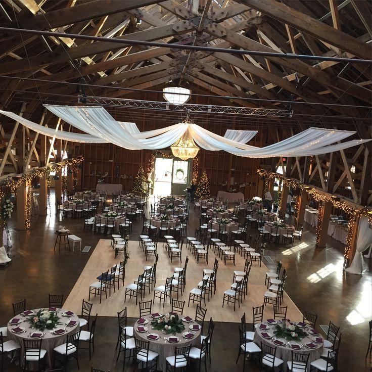 Pinehurst North Carolina Rustic Barn Wedding: Tisch Bei The Fair Barn In Pinehurst