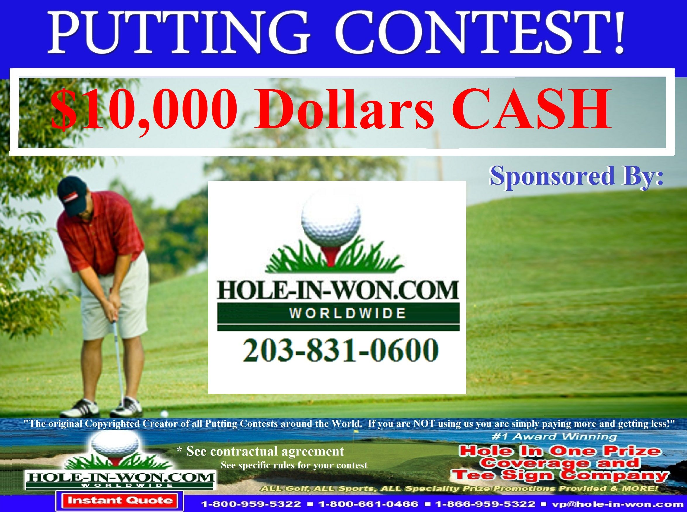 Putting Contests and Putting Contest Insurance 203831