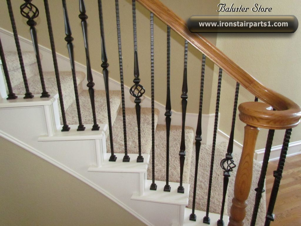 Delightful Pattern Spindles   Not All The Same High Quality Powder Coated Iron Stair  Parts For Stylish Iron Stair Spindles