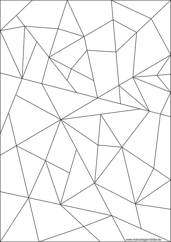 Mosaik Ausmalbild | Coloring | Pinterest | Ausmalbilder, Mosaik und ...