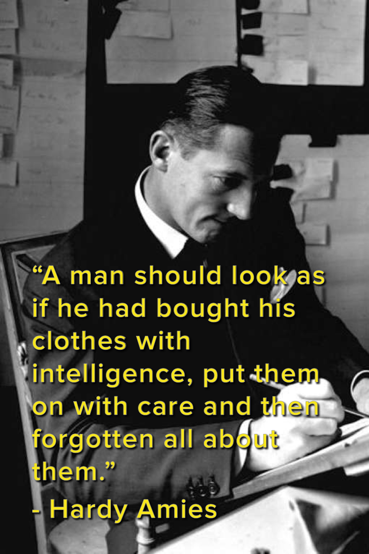 The 43 Best Men's Fashion Quotes to Live By