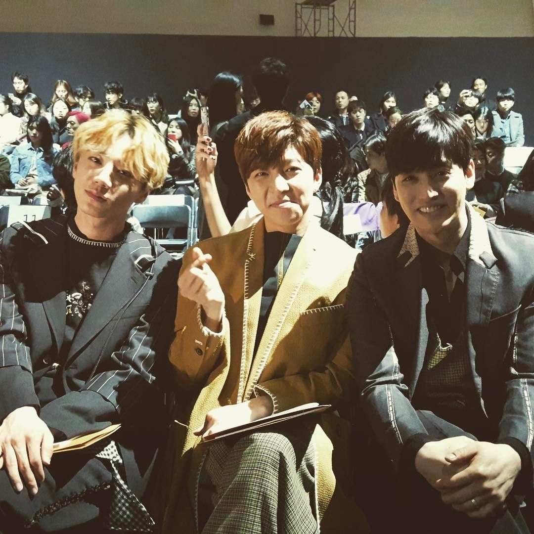 Fashion week with Soohyun형 and Jun! #fashionweek #ukiss #munn #뮌 #동대문 #패션위크 #smile