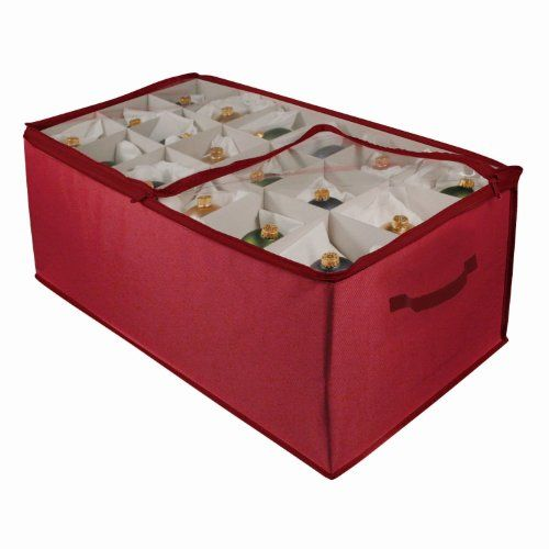 Christmas Tree Storage Bin Adorable Christmas Ornament Storage Boxes  Christmas Ornament Storage Inspiration