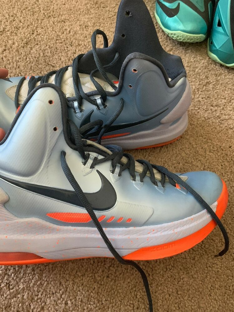 new products 2ab65 0073b NIKE KD 5 ICE BLUE- Mens Size 9  fashion  clothing  shoes