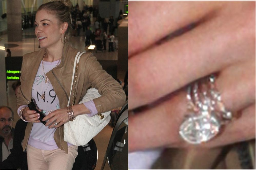 Leann Rimes Has Stacked Wedding Bands Which Represent Eddie