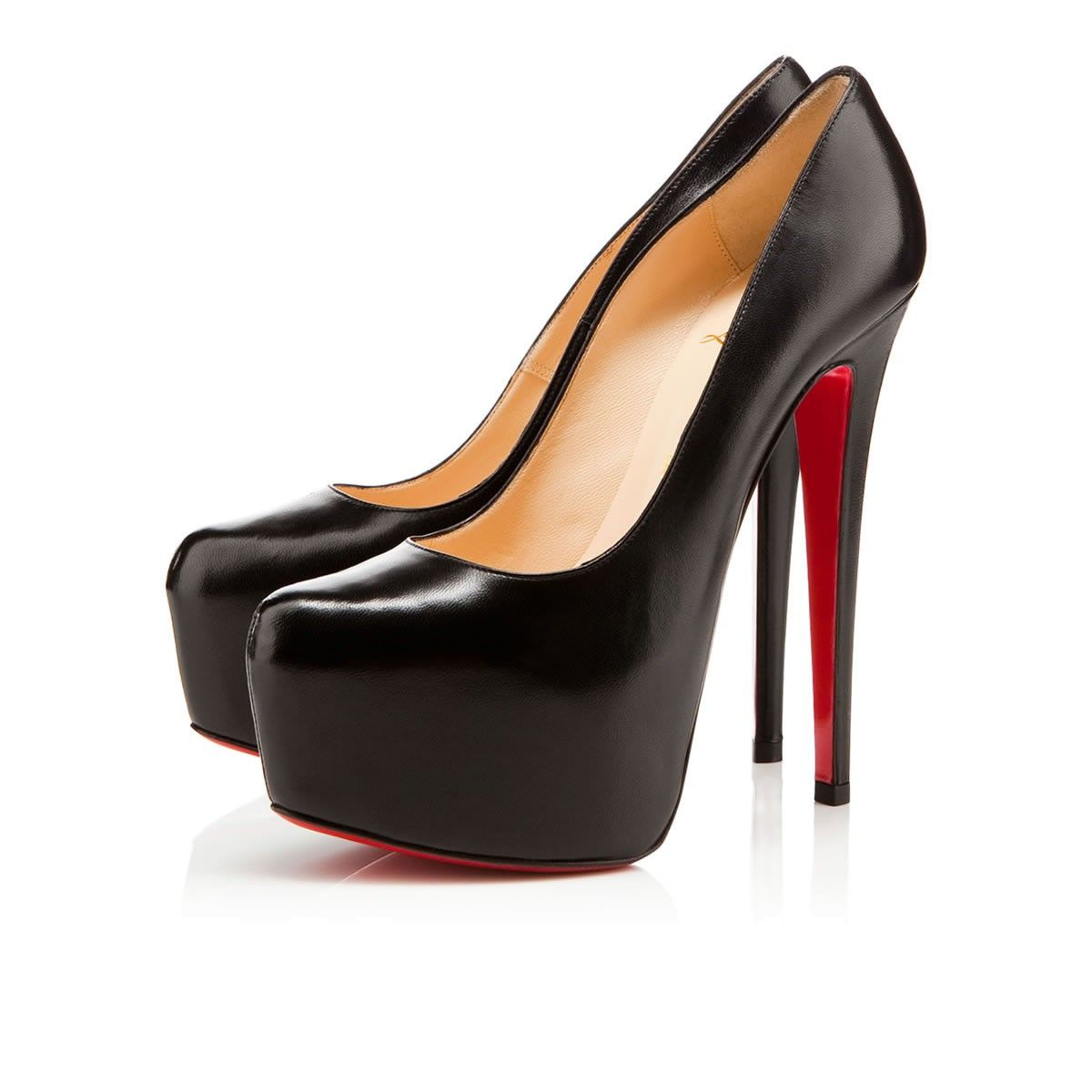 christian louboutin black daffodile pumps price