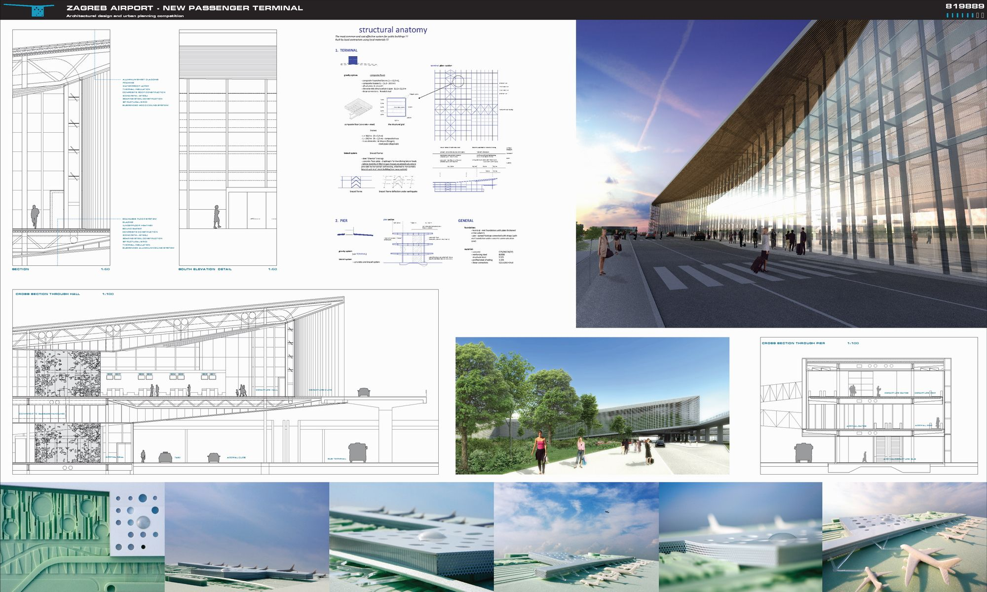 Pin By Rong Yin On New Passenger Terminal For Zagreb Airport Croatia Zagreb Passenger